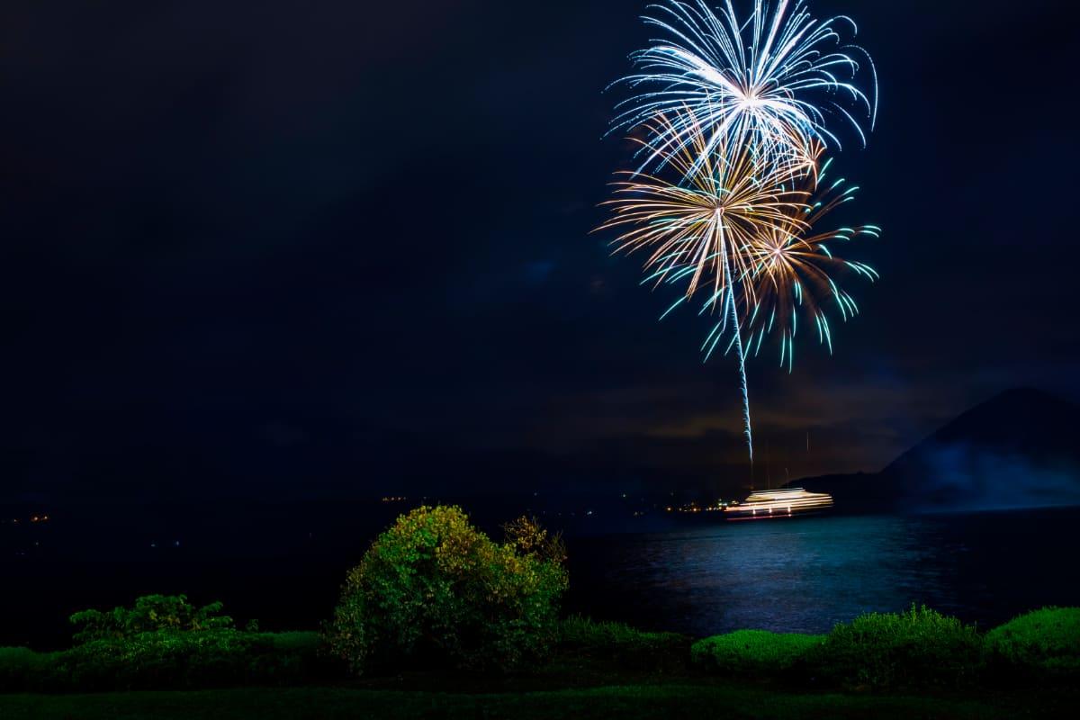 半年間毎晩楽しめる「洞爺湖ロングラン花火大会」