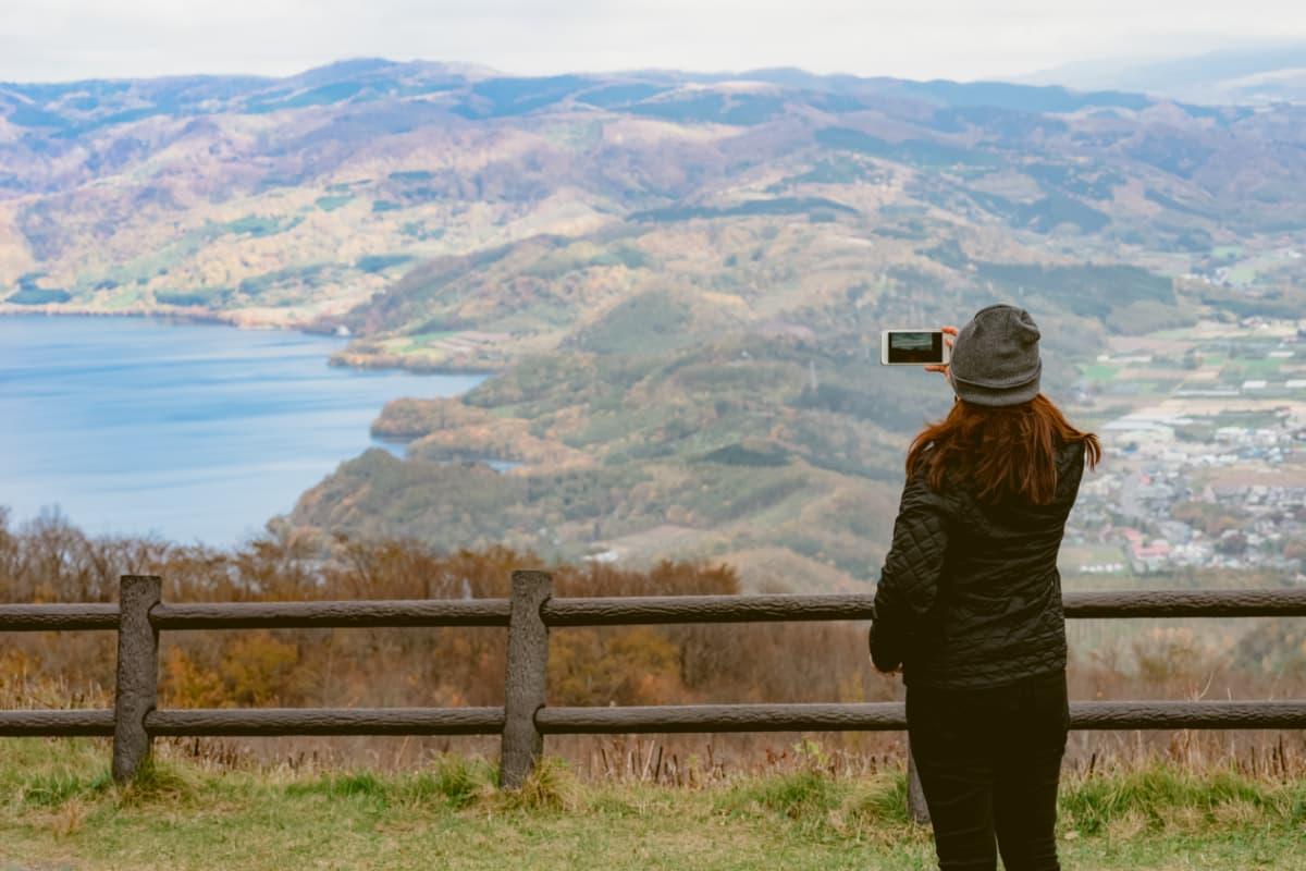 洞爺湖と神威岬をまわる旅