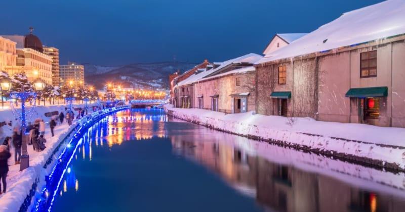 ノスタルジーに浸るなら、冬の小樽へGO!観光スポットとイベント5選