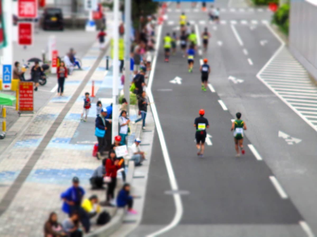 沖縄のマラソンは応援がすごい!