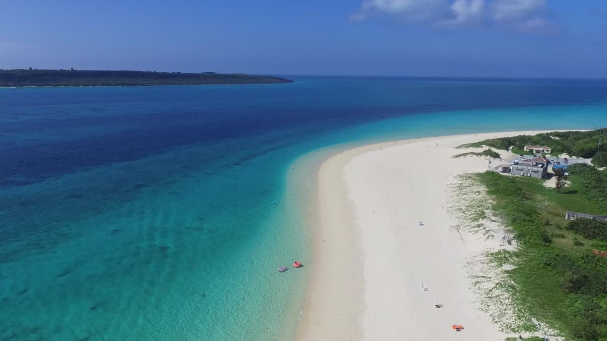 透明度抜群の海が魅力の宮古島