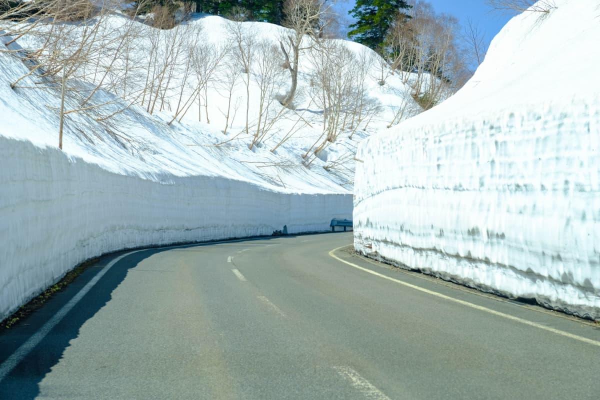 積雪量に差が出る理由