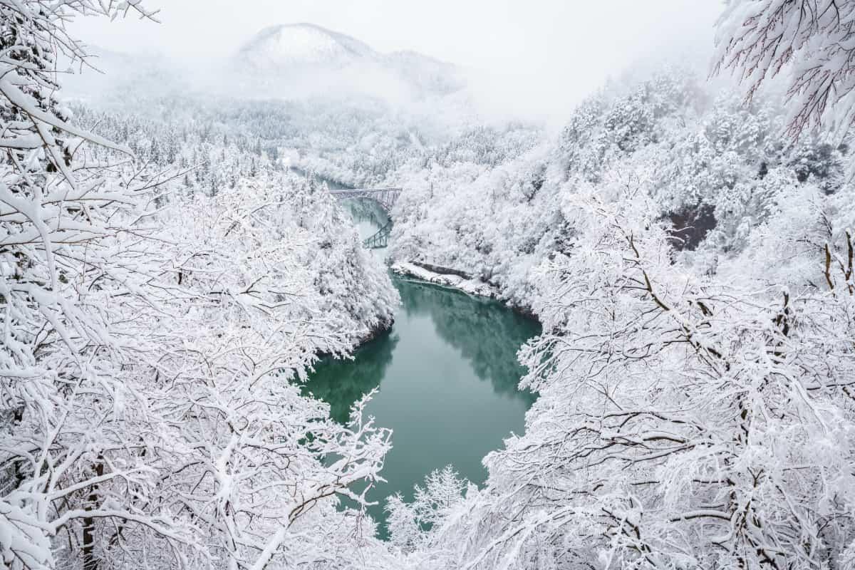 東北は日本海側と太平洋側で気候に違いがある