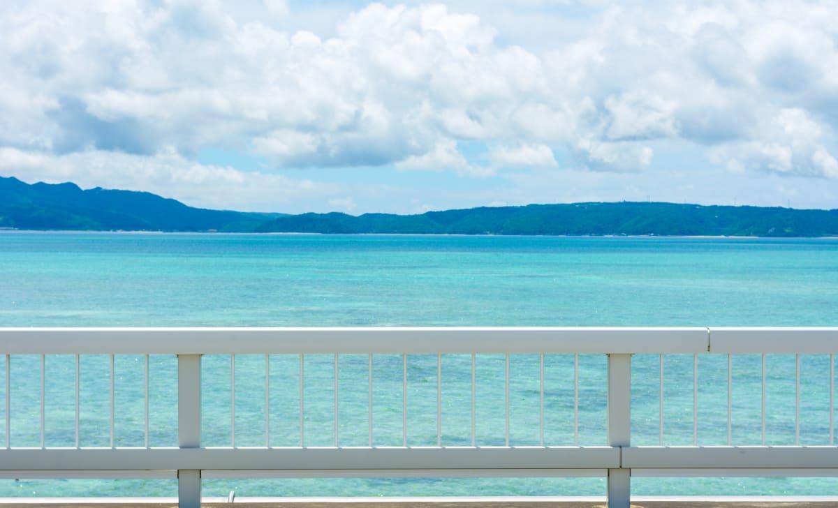 キレイな海を見ながらのドライブ