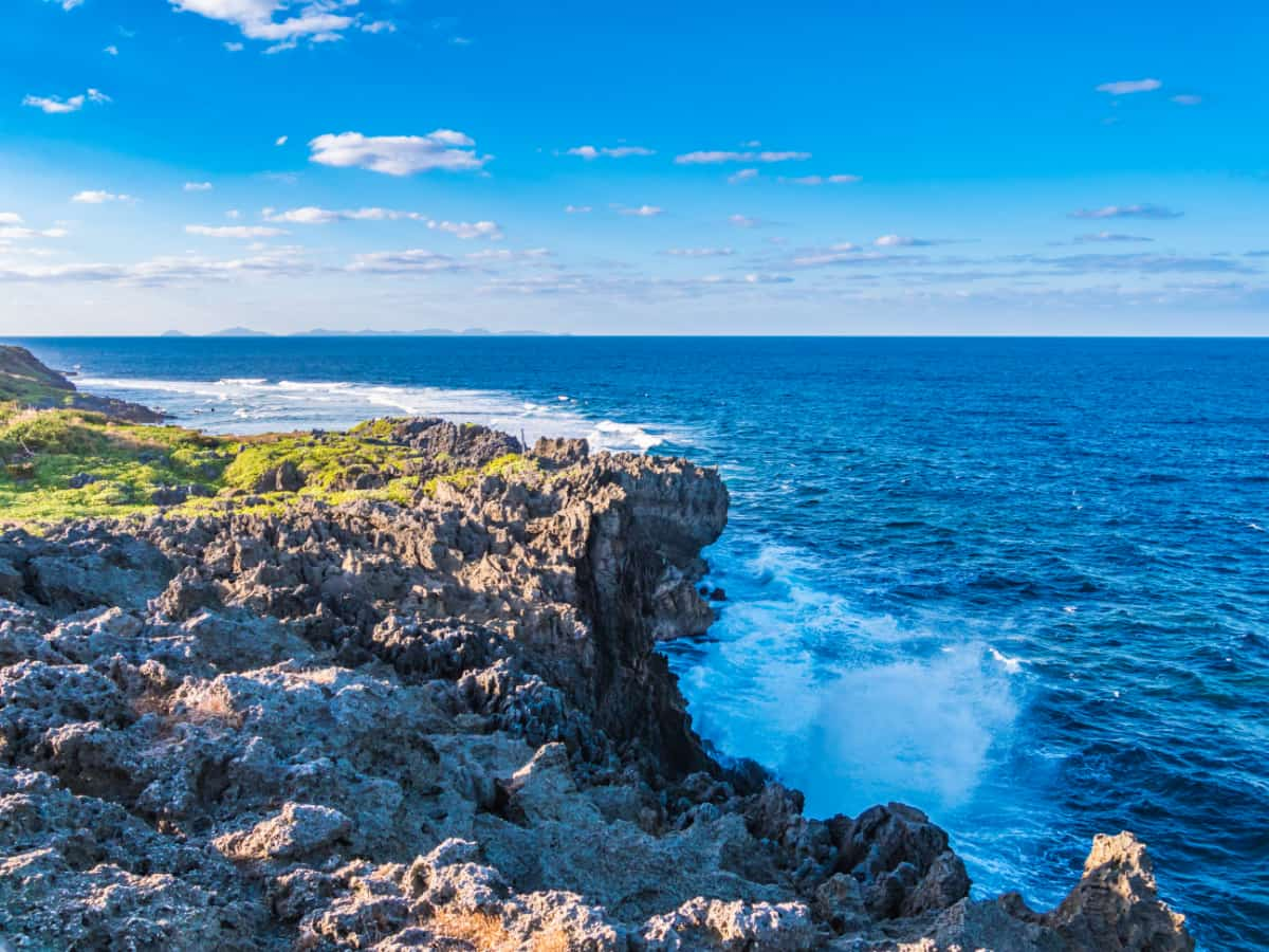 沖縄本島の最北端「辺戸岬」