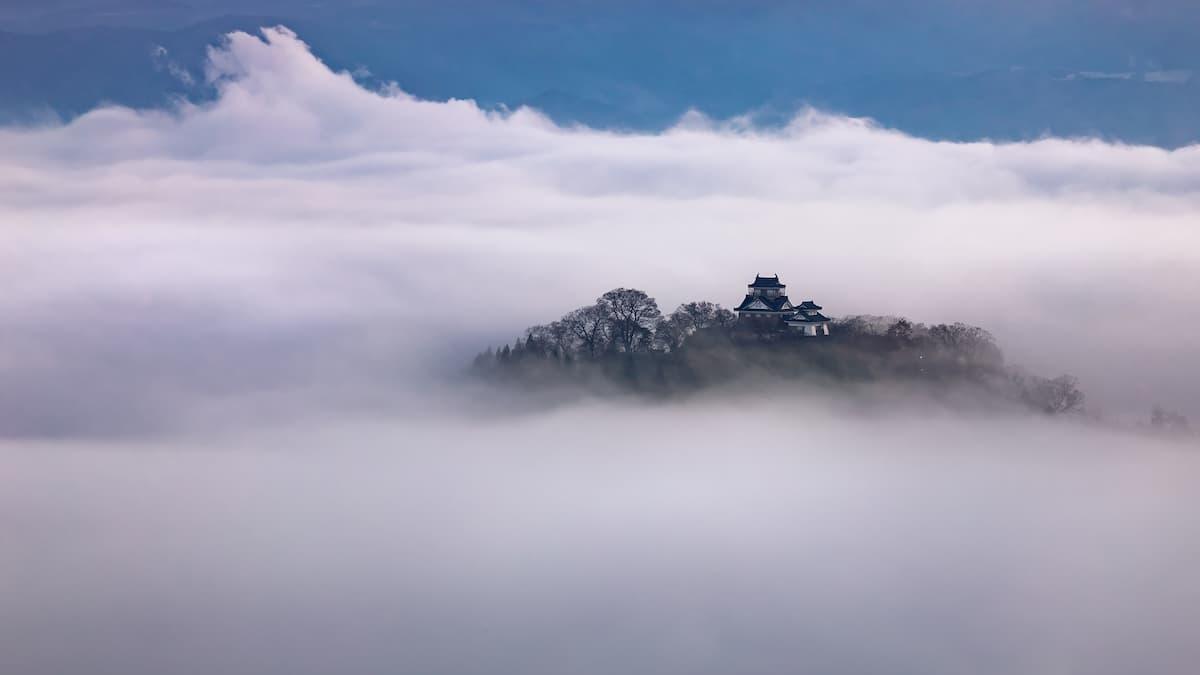 この世のものとは思えない!天空の城・越前大野城
