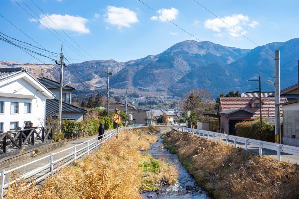 日本の原風景に癒やされる