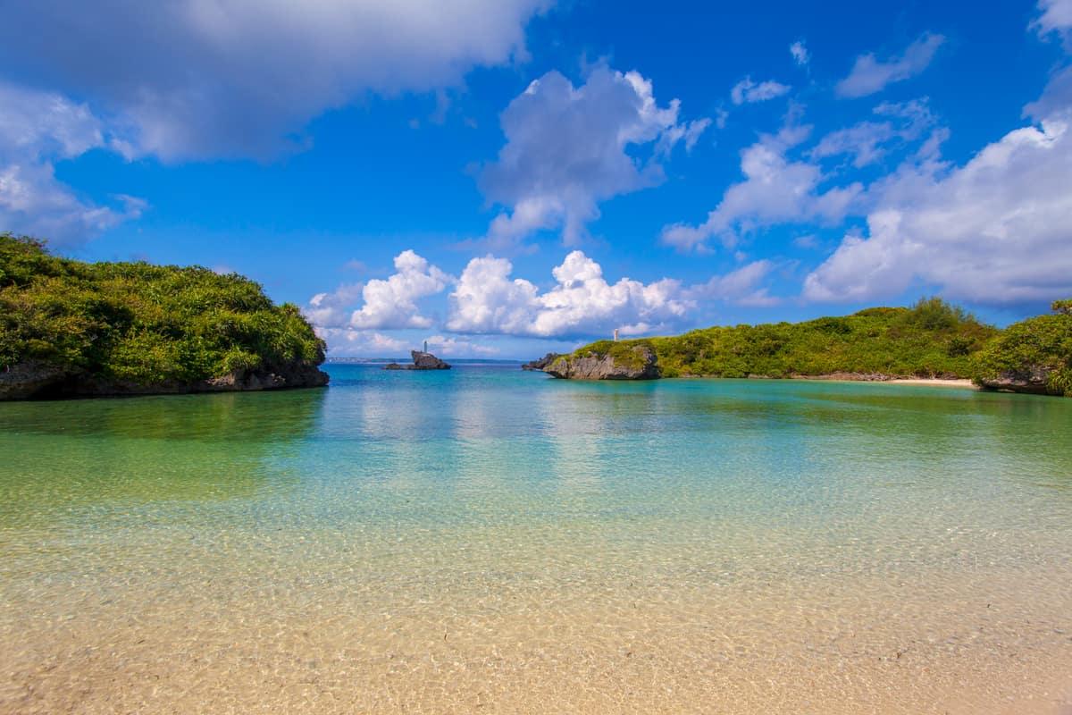 世界に誇る美しい海・自然を満喫できる宮古島