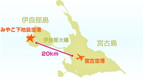 みやこ下地島空港はどこにあるの?